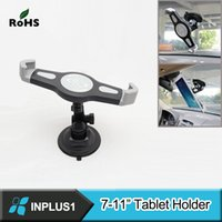 Wholesale High end Universal Windshield Suction Car Mount Holder fit for quot Tablet PC GPS for iPad and Samsung Tablet
