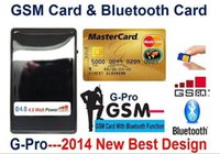 Wholesale New W GSM BOX Card With Bluetooth in Gsm box credit id card not include any micro earpiece
