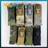 Wholesale Tactical Molle Clip Double Mag Magazine Pouch Bag Pistol Magazine Pouch Cartridge Clip tool Pouch For USUG