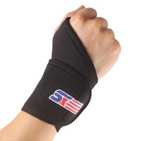 band guard - SX502 Monolithic Sports Gym Elastic Stretchy Wrist Joint Brace Support Wrap Band Guard Protector Thumb Loop Black H14213