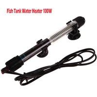 Wholesale Aquarium Fish Tank Water Heater W V Submersible Pet Fish Tank US plug Adjustable Water Heater Temperature
