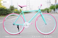 Wholesale x15 Fixed Gear Bikes N colors can be changed back brake fly down to ride two wheeled students live male and female models bicycle