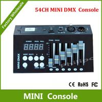 Wholesale DHL CH mini dmx controller console dj console dj controller DJ lighting controller V battery V DC powered