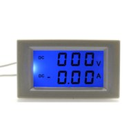 Digital Only amp supply - DC0 V A Volt Amp Tester Meter DC Ammeter Voltmeter Power Supply DC V With Blue Backlight