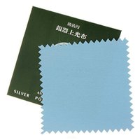 Wholesale 5pcs Wipe Silver Jewelry Polishing Cloth Cleaning Cloth