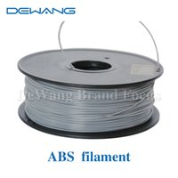 Wholesale DeWang R Grey mm D ABS Filament Production Line for d printing kg Roll Consumables order lt no track