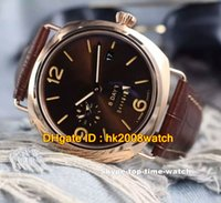 automatic strapping machines - Best Sellers New Luxury Days GMT AUTO Gents Watches Rose Gold Brown Dial Leather Strap Automatic Machine Mens Best Sports Watch