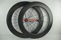 Wholesale 25mm rim width mm full carbon dimple wheelset C wheels road bike dimple wheels with Novatec hub logo