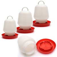 Wholesale 1PCS Chicken Nipple Drinkers Duck Feeder Plastic Round Watering Supplies For Farm Animal Size