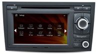 audi hd radio - AS Dedicated For Audi S4 Wince Car DVD GPS Navigation din6 quot P HD G CPU support lossless music
