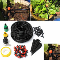 Wholesale DIY Micro Drip Irrigation System Automatic Plant Watering Kits Garden Gardening Drip Irrigation Equipment M Hose Drippers order lt no t