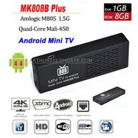 MK808 TV box android - 2015 Last MK808B Plus Android TV BOX Stick Dongle Amlogic M805 Quad Core GB GB Mini PC H Bluetooth XBMC HDMI Miracast DLNA MK808