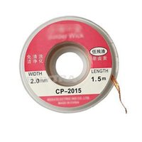 Wholesale 2014 New ft mm Useful Desoldering Wire Braid Solder Remover Wick CP