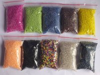 Cheap Free shipping !!! 2000piece bags mixed Glass Seed Beads