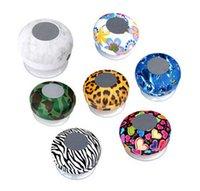 Wholesale Leopard Sucker Wireless Waterproof Speakers Bluetooth Speaker Memory Card Speaker