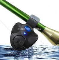 Wholesale Electronic LED Light Fish Bite Sound Alarm Bell Clip On Fishing Rod