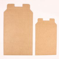 Wholesale 23 cm Office Supplies Retro Brown Standard Kraft Paper Documents Pocket File Bag For Files A5 Paper Packing