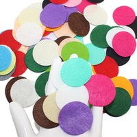 Wholesale 100 DIY CM CM Round Felt fabric pads accessory patches circle felt pads fabric flower accessories