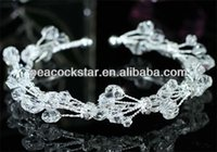 Wholesale Bridal Wedding Party Handmade Cuff Bangle Crystal CB064X3