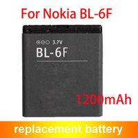 BL-6F Li-ion Battery 1200mAh Replacement Battery BL6F For Nokia N78 N79 N95 6788 6788i Mobile Phone 1200mAh BL-6F ACCU
