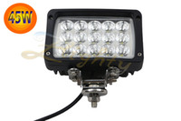 Wholesale 1X quot W Flood Beam LED Work Light Bar Off road Driving Light Truck ATV UTE WD