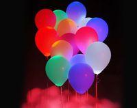 led balloons - 20pcs new LED light balloon Light emitting balloon Wedding celebration party bar Colorful LED lights balloon