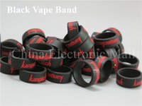 Wholesale 100pcs China Post mm mm vape band For RDA Mod tank factory price best silicone material silicone ring