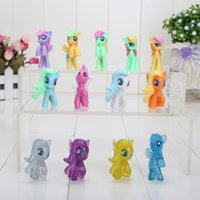 Wholesale 4CM Style Mixed My little pony Loose Action Figures toy Pony Littlest Figure For Kids