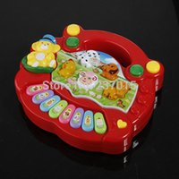 Wholesale New Useful Popular Baby Kids Farm Animal Piano Music Developmental Educational Toy
