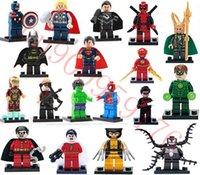 lego - 450pcs Building Blocks Sets Figures super hero minifigure models