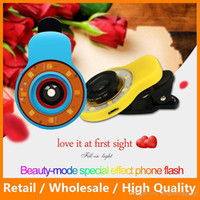 beauty tablets - 9 in1 Special Effect Phone LED Flash Light Mobile Phone Lens Night Using Beauty Selfie Sycn Flashlight for Camera Phone Tablet