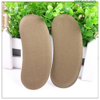 Wholesale 100 Pairs Sticky Fabric Sponge Shoe Back Heel Inserts Insoles Pads Cushion Liner Grips T2026