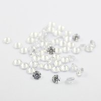 Wholesale 100pcs mm mm AAA cubic zirconia white round loose gem stones