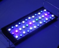 Wholesale 4pcs dhl free wifi controoler led aquarium light for coral reef LPS LPS fish plant W