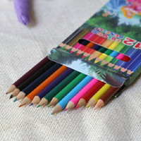 Wholesale Free Gift Shipping Good Package cm Wooden High Quality Lightweight Portable Safe Color Optional Colored Pencils