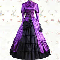 belle wig adult - 2015 Medieval dress halloween costumes Party Costume adult princess Southern belle costume Ball Gown Gothic Lolita dress