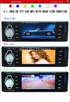 Cheap Free Shipping 4.1 inch TFT HD Screen Car MP3 Player SD USB Aux in 1080P Rear View Camera1 Din Car Audio Stereo MP4 MP5 MQC182
