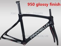 Wholesale T1100 K carbon road bike frame glossy finish Carbon fiber bicycle frame BSA BB30 available color bob team sk