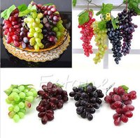 artificial food display - Fashion Bunch Lifelike Artificial Grapes Raisins Plastic Fake Fruit Food Home Decor Decoration