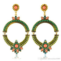 Wholesale Big Fashion Earrings Wholesale Fashion Big Round