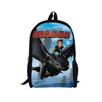 Wholesale 2014 New Dragon master of how to train your dragon A primary school pupil s school bag Leisure backpack