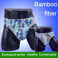 bamboo mites - Hot Soft amp Anti bacterial Mite Bamboo Fiber Fashion Mens Briefs Underwear Mens Brief Shorts Men
