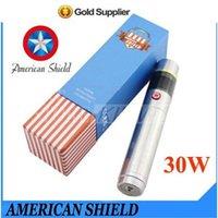 Cheap E Cigarette Battery 30W Best Mod American Shield Electronic Cigarett