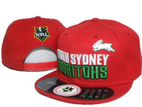 afl free - 2016 Sports Caps Red South Sydney Rabbitohs NRL Cap Man And Woman afl Snapback Hats baseball Caps fashion Hats hip Hop Caps DD