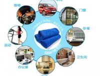 Wholesale 100pcs cmx70cm Microfiber Car Cleaning Towel Microfibre Detailing Polishing Scrubing Waxing Cloth Hand Towel