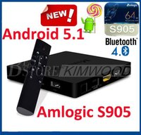 Wholesale Original Mini MX Andorid TV BOX Amlogic S905 Quad Core GB GB M Lan K KODI Pre installed Mini PC