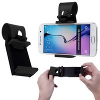 Wholesale Universal Car Steering Clip Wheel Mount Holder Stand For Mobile Phone GPS E