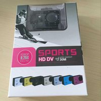 Wholesale Waterproof Inch LCD Screen SJ4000 style P Full HD Camcorders SJcam Helmet Sport DV M Action Camera DHL shipping
