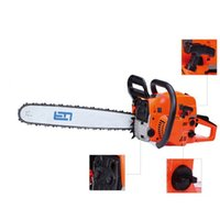 Wholesale 20in bar kw rpm CC Cycle Gas Powered Chain Saw Home Tree Oiler Shipping from USA OVS GDJ