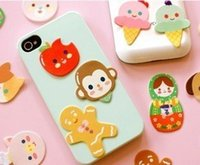 Cheap Free ship!!50pc!decorative cartoon stickers (single pack) luggage stickers cell phone sticker order<$15 no tracking